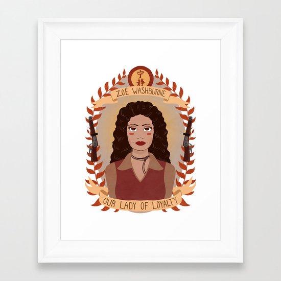 Zoë Washburne Framed Art Print