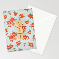 Love Your Face Stationery Cards