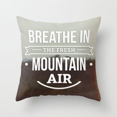 Mountain Air Throw Pillow