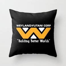 Weyland-Yutani Corporation Throw Pillow