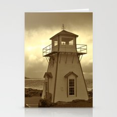 Lighthouse In Arisaig Stationery Cards