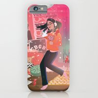iPhone & iPod Case featuring Dancing with the Devil by shecanliftahorse