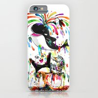iPhone & iPod Case featuring Yay! Bath Time! by Marco Angeles