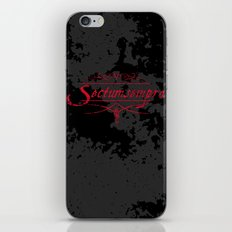 Harry Potter Curses: Sectumsempra iPhone & iPod Skin