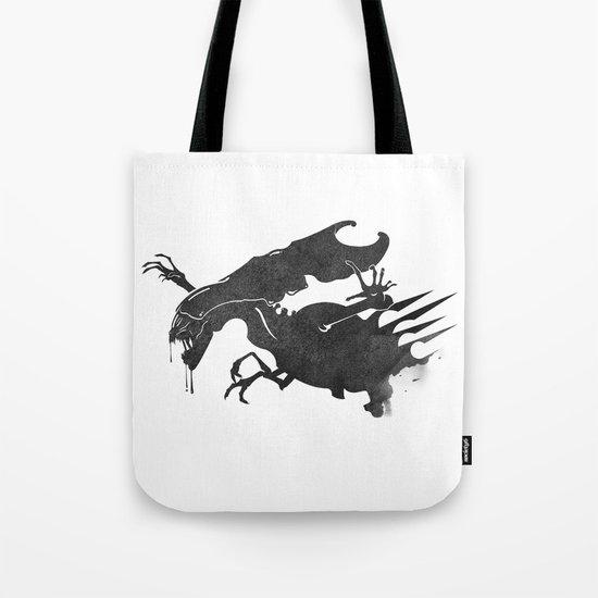 The Queen Alien Tote Bag