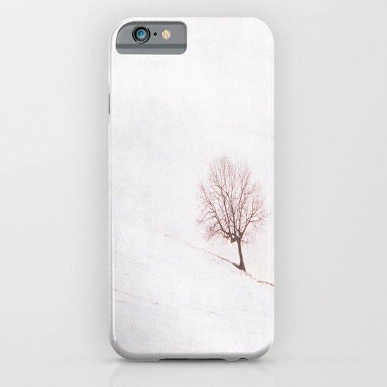 Lone Tree {Textured}  iPhone & iPod Case