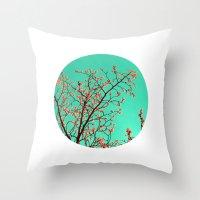 Spring Tree XXI Throw Pillow