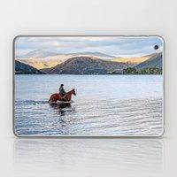 Horse At Airds Bay Loch … Laptop & iPad Skin