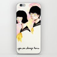 You are always home iPhone & iPod Skin