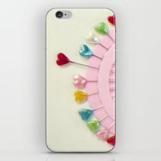 For the love of pins iPhone & iPod Skin