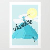Justice !.. Art Print