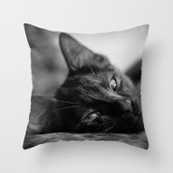 Throw Pillow featuring Nap by SensualPatterns
