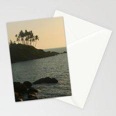 Palm Trees on the Point Palolem  Stationery Cards