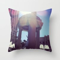 Caesar, your palace is lovely  Throw Pillow