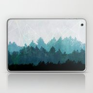 Laptop & iPad Skin featuring Woods Abstract  by Mareike Böhmer Grap…