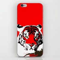 Piercing Tiger iPhone & iPod Skin