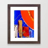 Hot City Framed Art Print