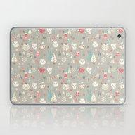 Baby Fox Pattern 03 Laptop & iPad Skin