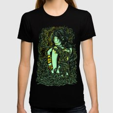 Entering the Unknown Womens Fitted Tee Black SMALL
