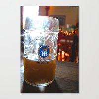 Drink Like a German Canvas Print