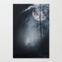 moon walkers Canvas Print