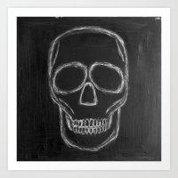 No. 57 - The Skull Art Print