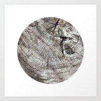 Planetary Bodies - Tree Art Print