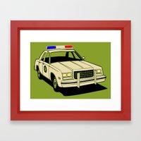 Cop Framed Art Print
