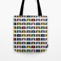 80 Rainbow Tapes Tote Bag
