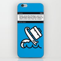 No021 MY Ulysses Book Ic… iPhone & iPod Skin