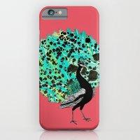 Neon Peacock iPhone 6 Slim Case