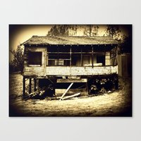 once a home II Canvas Print
