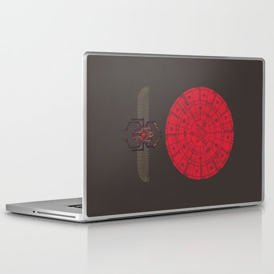 Sacred Sun Laptop & iPad Skin