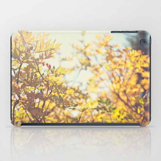 Fading Fall Leaves iPad Case