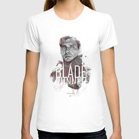 Blade Runner Womens Fitted Tee White SMALL