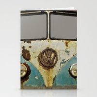 VW Rusty Stationery Cards