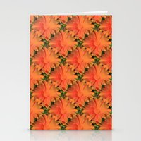 Orange Daisy Stationery Cards