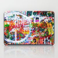 Lennon Wall - All You Need Is Love - Peace iPad Case