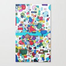 River City Canvas Print
