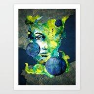 Evelin Green (Set) By Ca… Art Print