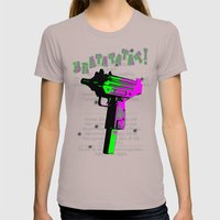 BRATATATAT! Womens Fitted Tee Cinder SMALL