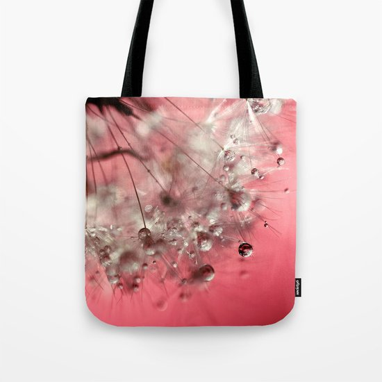 New Year's Pink Champagne Tote Bag