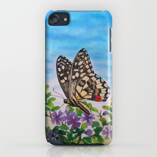 Chequered swallowtail  iPhone & iPod Case