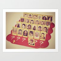 Guess Who Art Print