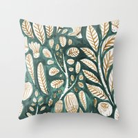 Living Plants Throw Pillow