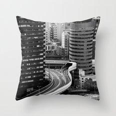 Not so little Osaka Throw Pillow