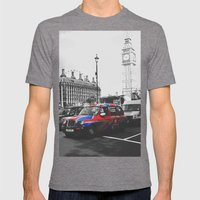 Travelling The British W… Mens Fitted Tee Tri-Grey SMALL