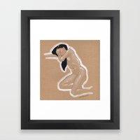 Nude nº3 Framed Art Print