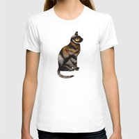 tiger T-shirts featuring THE TIGER WITHIN by Catspaws