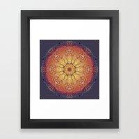 Warmth Framed Art Print